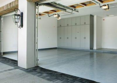 Gray Garage Cabinets