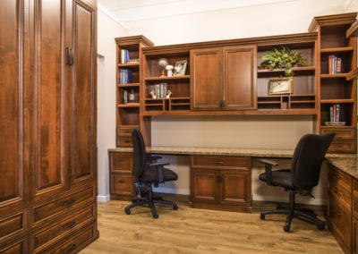 Palermo Home Office with Wallbed
