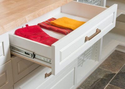 Pantry with Drawers