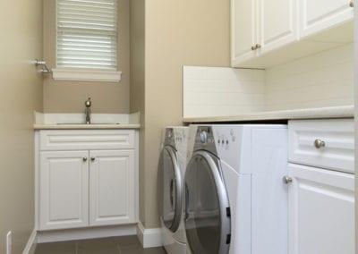 White Laundry with Verona doors
